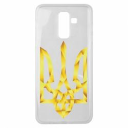 Чехол для Samsung J8 2018 Золотий герб - FatLine
