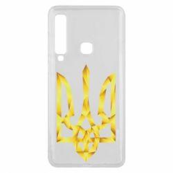 Чехол для Samsung A9 2018 Золотий герб - FatLine