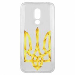 Чехол для Meizu 16x Золотий герб - FatLine