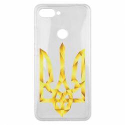 Чехол для Xiaomi Mi8 Lite Золотий герб - FatLine