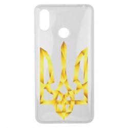 Чехол для Xiaomi Mi Max 3 Золотий герб - FatLine