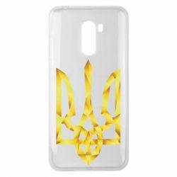 Чехол для Xiaomi Pocophone F1 Золотий герб - FatLine