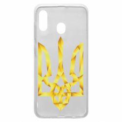 Чехол для Samsung A30 Золотий герб