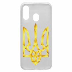 Чехол для Samsung A40 Золотий герб
