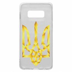 Чехол для Samsung S10e Золотий герб