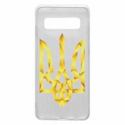 Чехол для Samsung S10 Золотий герб