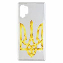 Чехол для Samsung Note 10 Plus Золотий герб