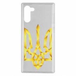 Чехол для Samsung Note 10 Золотий герб