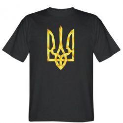 Мужская футболка Золотий герб - FatLine