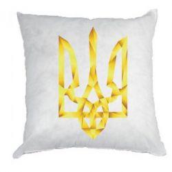 Подушка Золотий герб - FatLine