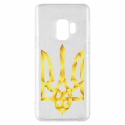 Чехол для Samsung S9 Золотий герб - FatLine