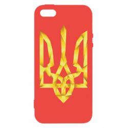 Чехол для iPhone5/5S/SE Золотий герб - FatLine