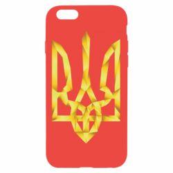 Чехол для iPhone 6/6S Золотий герб - FatLine
