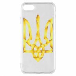 Чехол для iPhone 8 Золотий герб - FatLine