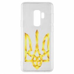 Чехол для Samsung S9+ Золотий герб - FatLine