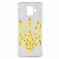 Чехол для Samsung A6 2018 Золотий герб - FatLine