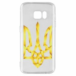 Чехол для Samsung S7 Золотий герб - FatLine
