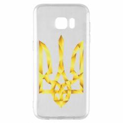 Чехол для Samsung S7 EDGE Золотий герб - FatLine