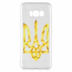 Чехол для Samsung S8 Золотий герб - FatLine