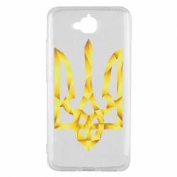 Чехол для Huawei Y6 Pro Золотий герб - FatLine