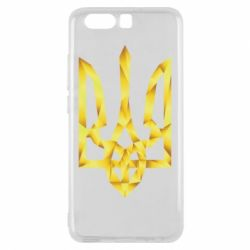 Чехол для Huawei P10 Золотий герб - FatLine