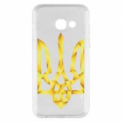 Чехол для Samsung A3 2017 Золотий герб - FatLine