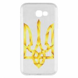 Чехол для Samsung A7 2017 Золотий герб - FatLine
