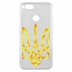 Чехол для Xiaomi Mi A1 Золотий герб - FatLine