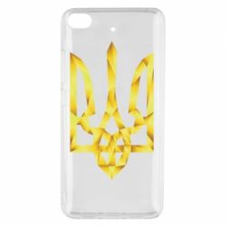 Чехол для Xiaomi Mi 5s Золотий герб - FatLine