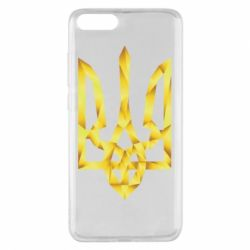 Чехол для Xiaomi Mi Note 3 Золотий герб - FatLine