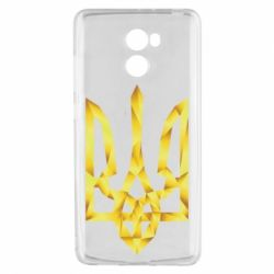 Чехол для Xiaomi Redmi 4 Золотий герб - FatLine