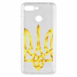 Чехол для Xiaomi Redmi 6 Золотий герб - FatLine