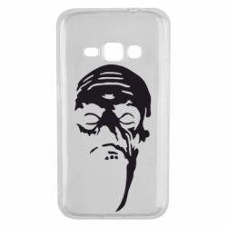 Чехол для Samsung J1 2016 Зомби (Ходячие мертвецы) - FatLine