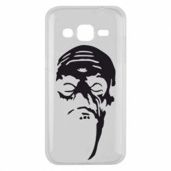 Чехол для Samsung J2 2015 Зомби (Ходячие мертвецы) - FatLine