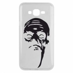 Чехол для Samsung J7 2015 Зомби (Ходячие мертвецы) - FatLine