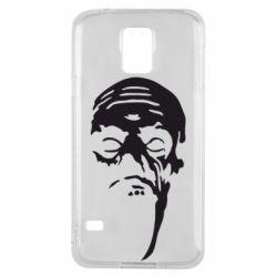Чехол для Samsung S5 Зомби (Ходячие мертвецы) - FatLine