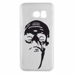 Чехол для Samsung S6 EDGE Зомби (Ходячие мертвецы) - FatLine