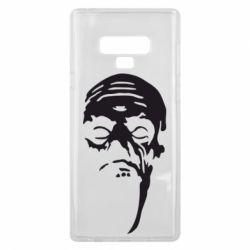 Чехол для Samsung Note 9 Зомби (Ходячие мертвецы) - FatLine