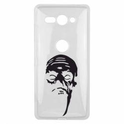 Чехол для Sony Xperia XZ2 Compact Зомби (Ходячие мертвецы) - FatLine