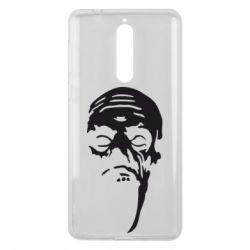 Чехол для Nokia 8 Зомби (Ходячие мертвецы) - FatLine