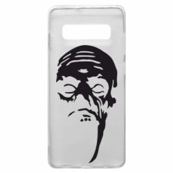 Чехол для Samsung S10+ Зомби (Ходячие мертвецы)