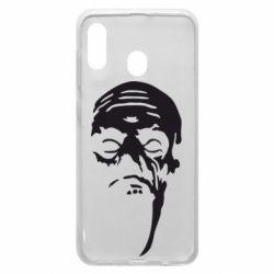 Чехол для Samsung A20 Зомби (Ходячие мертвецы)