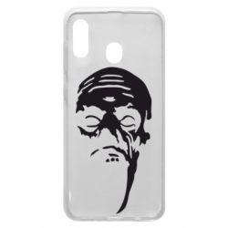Чехол для Samsung A30 Зомби (Ходячие мертвецы)