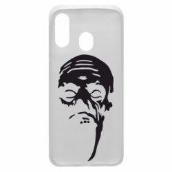 Чехол для Samsung A40 Зомби (Ходячие мертвецы)