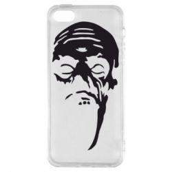 Чехол для iPhone5/5S/SE Зомби (Ходячие мертвецы) - FatLine
