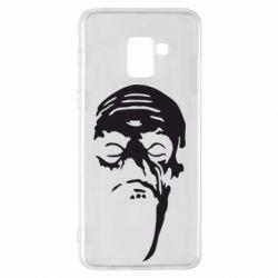 Чехол для Samsung A8+ 2018 Зомби (Ходячие мертвецы) - FatLine