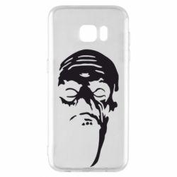 Чехол для Samsung S7 EDGE Зомби (Ходячие мертвецы) - FatLine