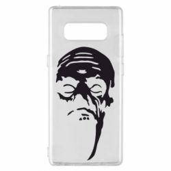 Чехол для Samsung Note 8 Зомби (Ходячие мертвецы) - FatLine
