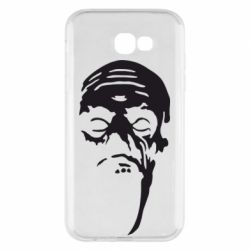 Чехол для Samsung A7 2017 Зомби (Ходячие мертвецы) - FatLine