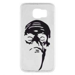 Чехол для Samsung S6 Зомби (Ходячие мертвецы) - FatLine